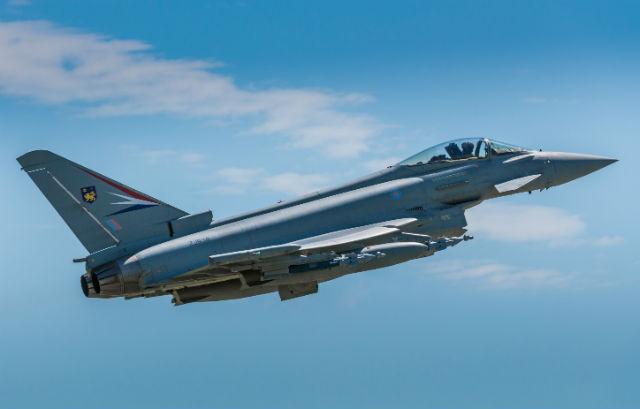 Typhoon Paveway IV test - BAE Systems