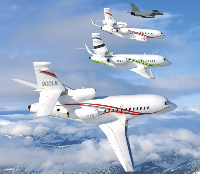 Dassault family fleet