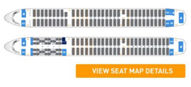 JB A321 layout