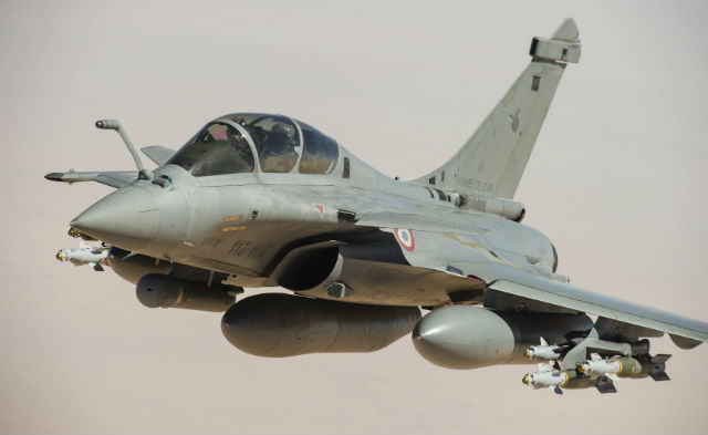 Rafale over Mali - French air force