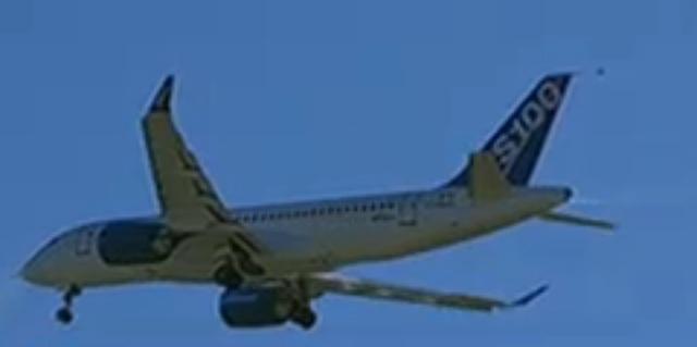 CSeries first flight
