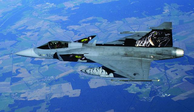 Czech Gripen - Saab