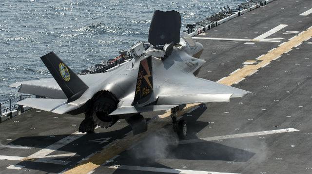 F-35B USS Wasp - Lockheed Martin