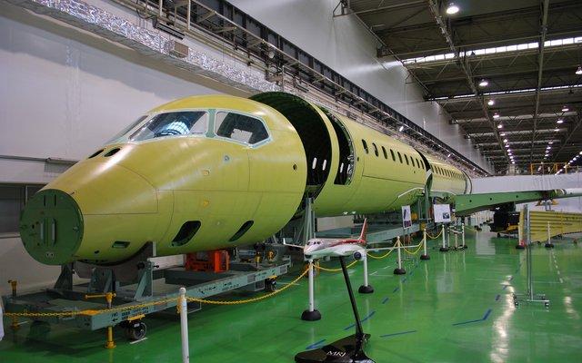 MRJ Fuselage 1