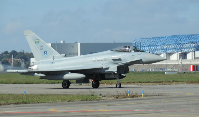 Saudi Typhoon - Zhukovsky AirSpace