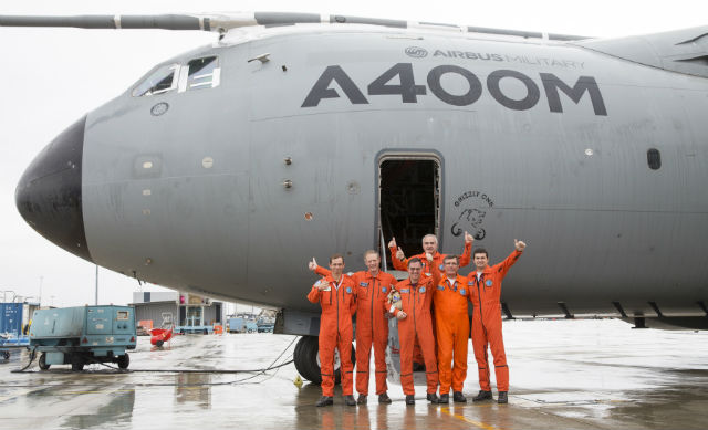 A400M crew - Airbus Military