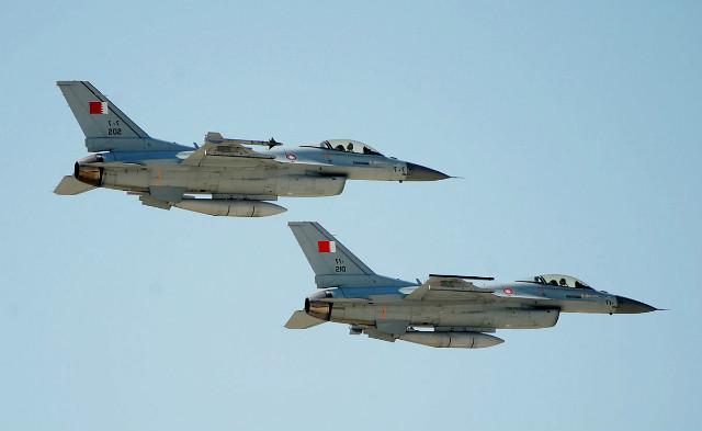 Bahrain F-16s