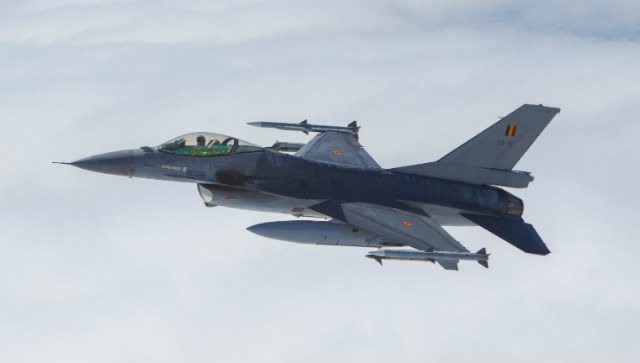 Belgian F-16 - Rex Features