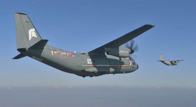 C-27J pair - Alenia Aermacchi