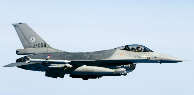 Dutch F-16 - Rex Features