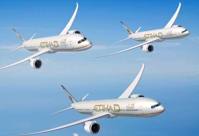 Etihad Dubai Order 640