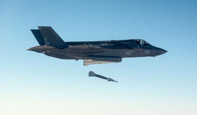 F-35B GBU-12 drop - Lockheed Martin