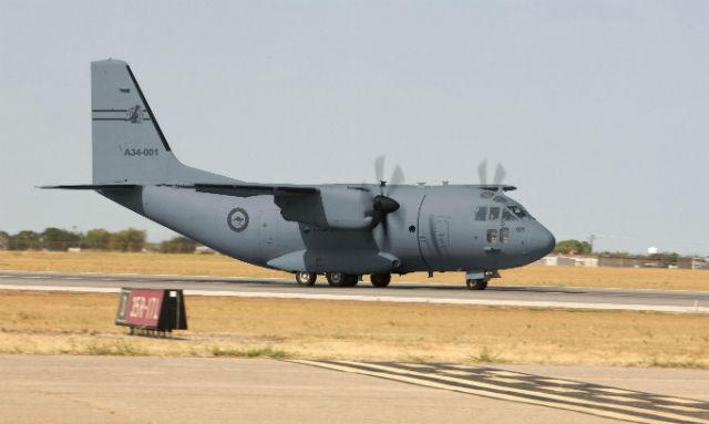 RAAF C-27J graphic - L-3 Communications