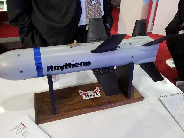 Raytheon Pyros missile