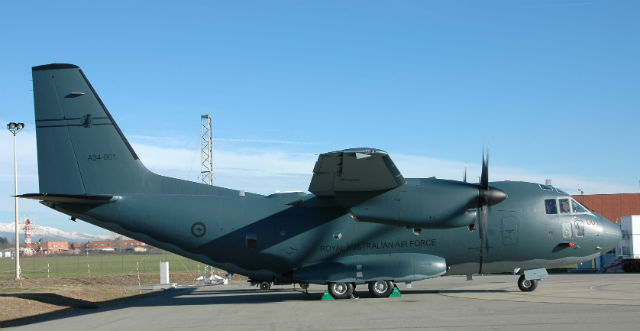 Australian C-27J side - Alenia Aermacchi
