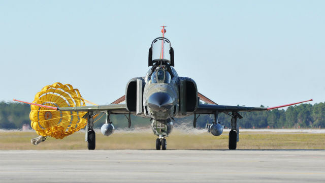 Last QF-4 - USAF