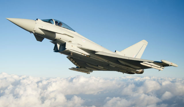 Tranche 3 Typhoon up - BAE Systems