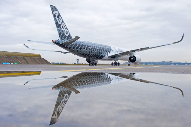 A350 MSN2 carbon livery