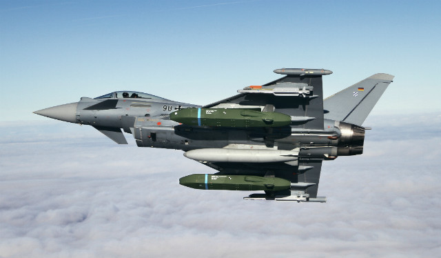 Eurofighter Typhoon Taurus - Airbus Defence & Spac