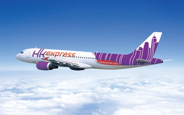 HK Express new livery 2