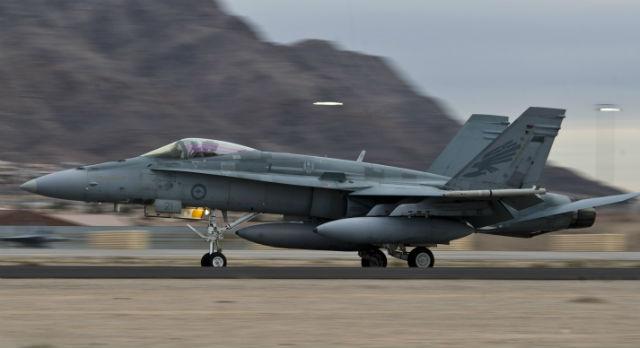 RAAF F/A-18A - USAF
