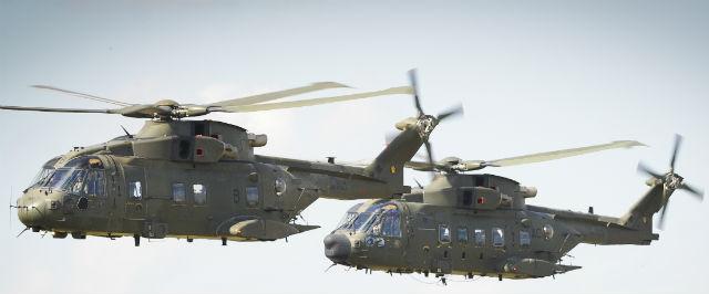 RAF Merlins - Crown Copyright