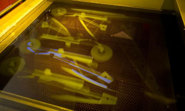 Tornado 3D printer parts - BAE Systems