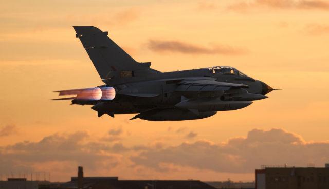 Tornado GR4 burn - BAE Systems