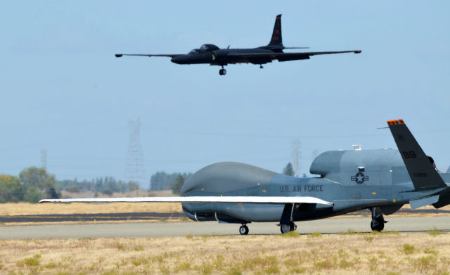 Global Hawk U-2 - USAF
