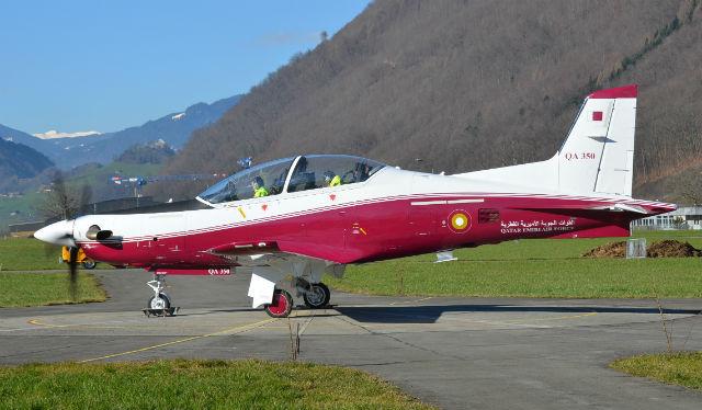 Qatar PC-21 - Stephan Widmer