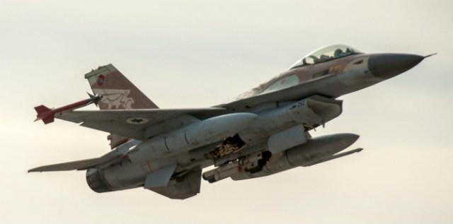 Israeli F-16 - Rex Features