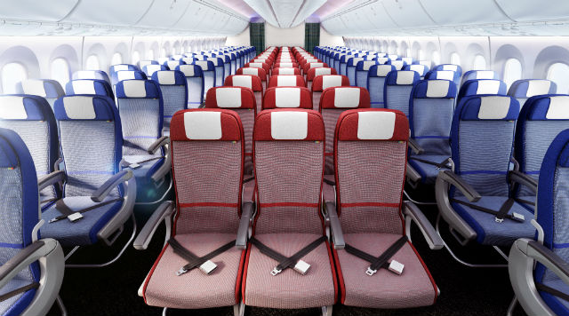 LATAM 787-9 and A350 econ class