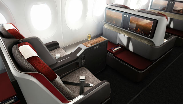 LATAM A350 interior