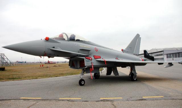 Tranche 3A Typhoon - Alenia Aermacchi