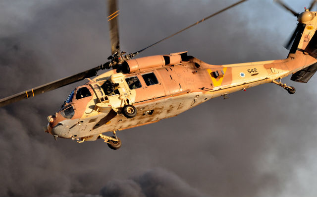 UH-60 Black Hawk - Israeli air force