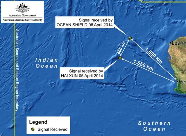 Australia MH370 April 7 search
