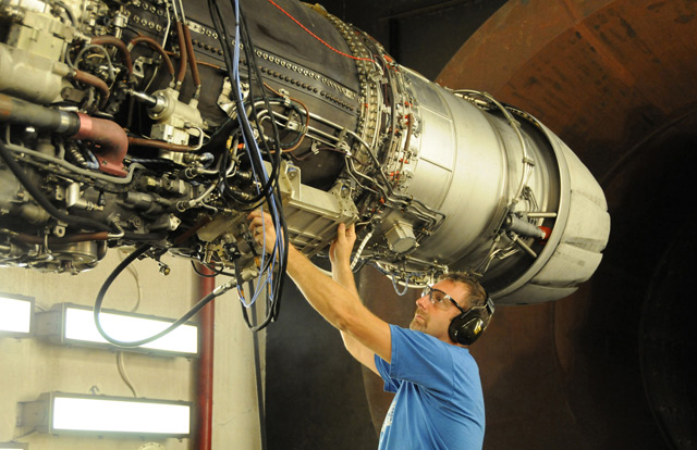 F414 powerplant