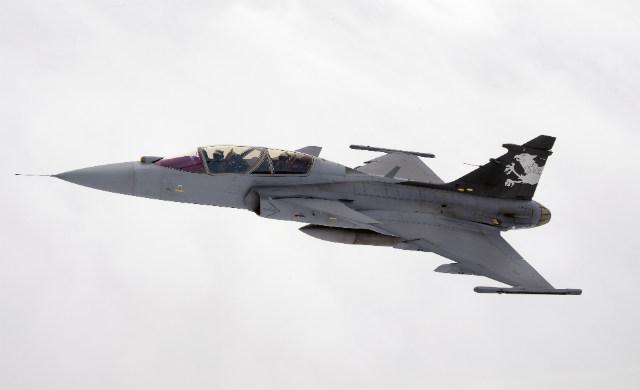Gripen 39-7 IRST - Saab