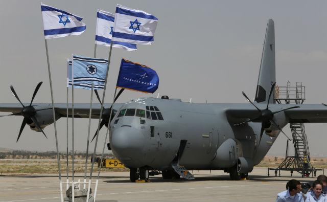 Israel C-130J - Diego Mitelberg