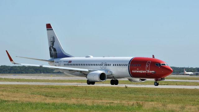 Norwegian 737 Gatwick - Rex Features