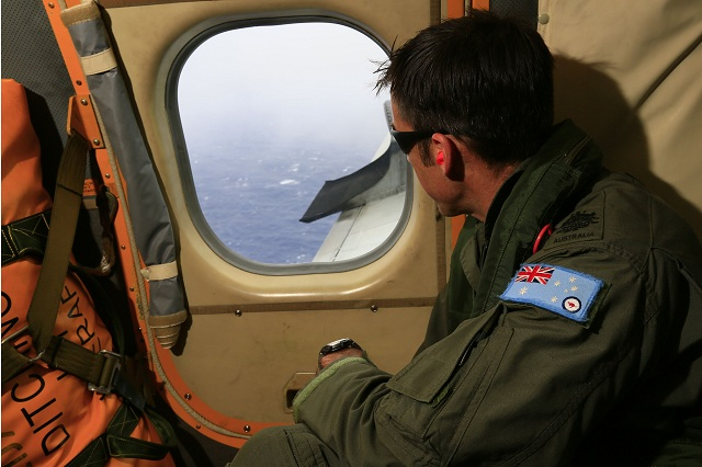 RAAF AP-3C orion search