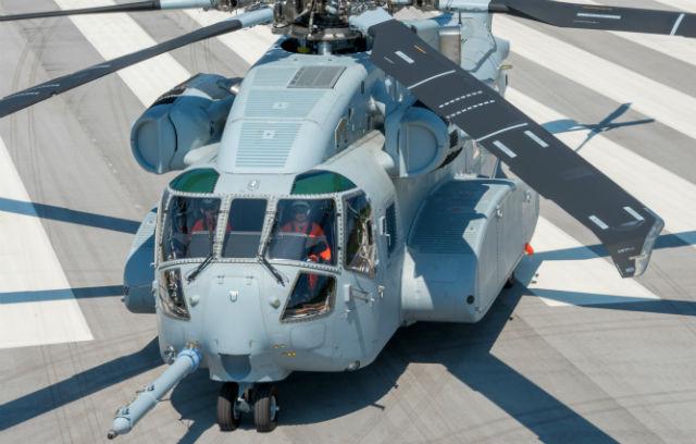 CH-53K runway - Sikorsky