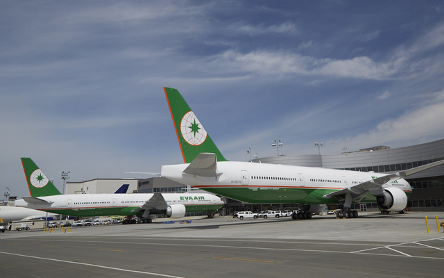 Eva Air double 77Ws