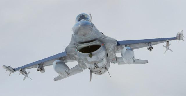 F-16 Belgium - Rex Features