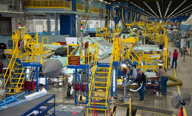 F-35 line 3D printing