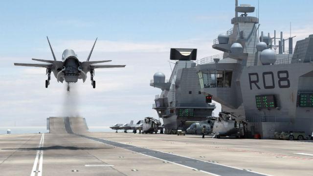 F-35 Queen Elizabeth - Aircraft Carrier Alliance