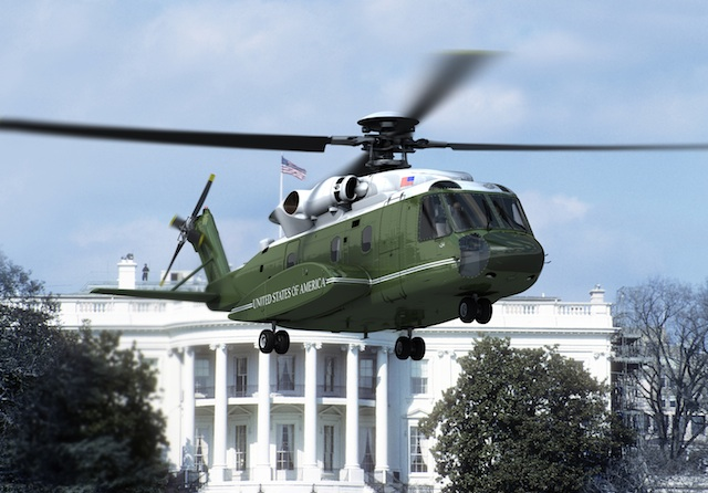 Sikorsky VXX Presidential helicopter