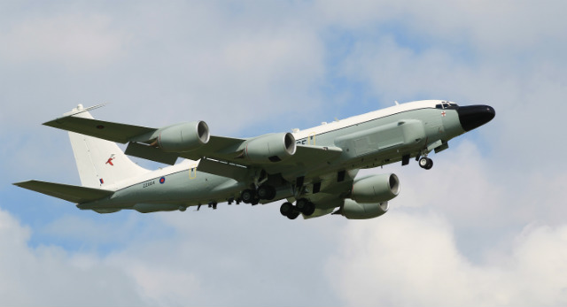 UK RC-135W Rivet Joint - Crown Copyright