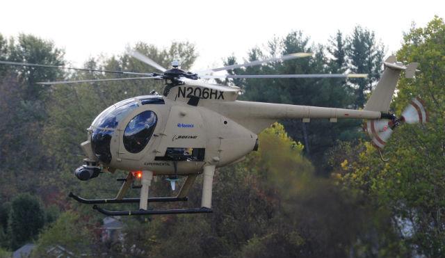 Unmanned Little Bird test - Aurora Flight Sciences