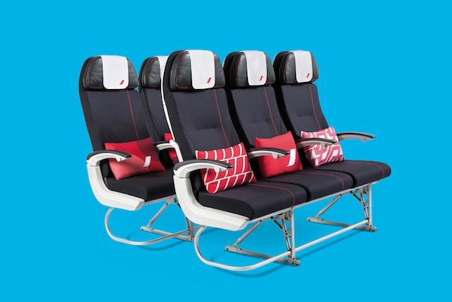 Air France 777 economy